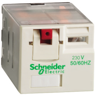 RPM41P7 реле 4co 230в перем тока Zelio Schneider Electric